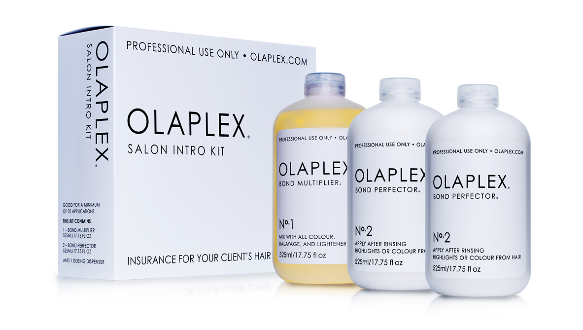 We use Olaplex products