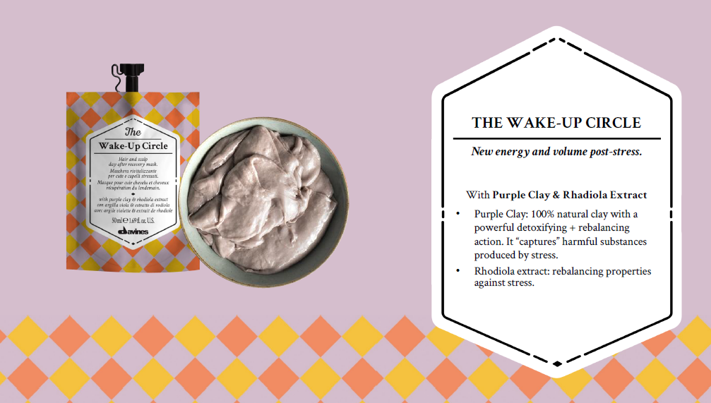 Davines 'Circle Chronicles - Wake Up' - available at Lounge Hair Boutique - Unisex hairdressers in Ashford, Kent
