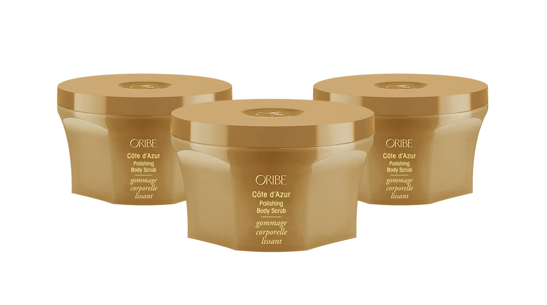 Oribe Côte d 'Azur Polishing Body Scrub - available at Lounge Hair Boutique - Unisex hairdressers in Ashford, Kent